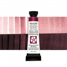 Daniel Smith : Luminescent Watercolour Paint : 5ml : Iridescent Ruby : Series 1