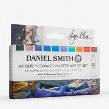 Daniel Smith : Watercolour Paint : 5ml : Angus McEwan's Master Artist Set of 10