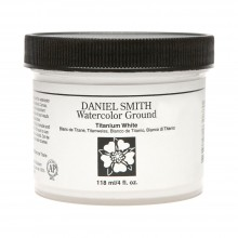 Daniel Smith : Watercolour Paint Ground : 113ml (4oz) : Titanium White