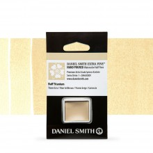 Daniel Smith : Watercolour Paint : Half Pan : Buff Titanium : Series 1