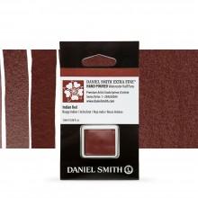 Daniel Smith : Watercolour Paint : Half Pan : Indian Red : Series 1