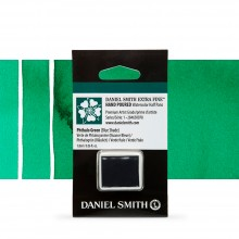 Daniel Smith : Watercolour Paint : Half Pan : Phthalo Green (Blue Shade) : Series 1