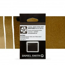Daniel Smith : Watercolour Paint : Half Pan : Raw Umber : Series 1