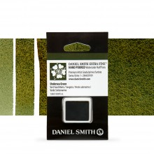 Daniel Smith : Watercolour Paint : Half Pan : Undersea Green : Series 1