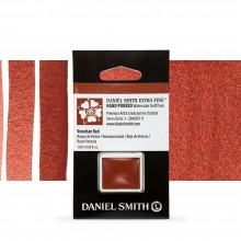 Daniel Smith : Watercolour Paint : Half Pan : Venetian Red : Series 1