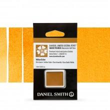 Daniel Smith : Watercolour Paint : Half Pan : Yellow Ochre : Series 1