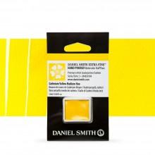 Daniel Smith : Watercolour Paint : Half Pan : Cadmium Yellow Medium Hue : Series 3