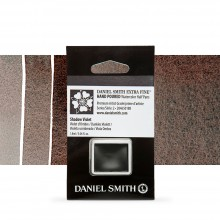 Daniel Smith : Watercolour Paint : Half Pan : Shadow Violet : Series 2