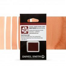 Daniel Smith : Watercolour Paint : Half Pan : Burnt Sienna Light : Series 1