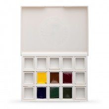 Daniel Smith : Watercolour Paint : Half Pan : Floral Set of 6