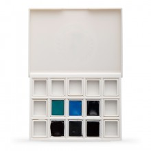 Daniel Smith : Watercolour Paint : Half Pan : Serene to Dramtatic Set of 6