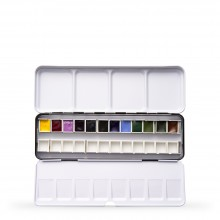 Daniel Smith : Watercolour Paint : Half Pan : Inspirations Metal Box Set of 12