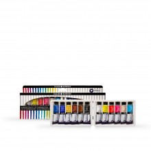 Daler Rowney : Aquafine Gouache : 15ml : Set of 12