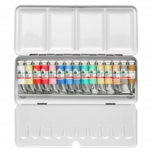 Old Holland : Watercolour Paint Set : 15x6ml : Tubes in Metal Box