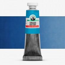 Old Holland : Watercolour Paint : 18ml : Cerulean Blue Deep