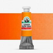 Old Holland : Watercolour Paint : 6ml : Cadmium Yellow Orange