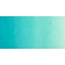 Old Holland : Watercolour Paint : Half Pan : Cobalt Blue Turquiose Light