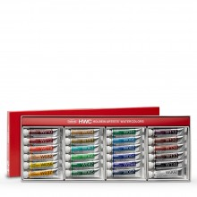 Holbein : Watercolour Paint : Set Of 5ml : Tubes x 24 (W405)
