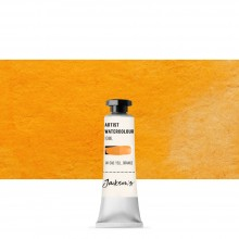Jackson's : Artist Watercolour Paint : 10ml : Cadmium Yellow Orange