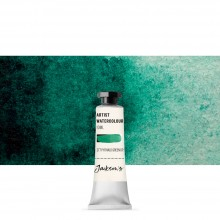 Jackson's : Artist Watercolour Paint : 10ml : Phthalocyanine Green Deep