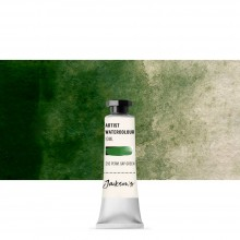 Jackson's : Artist Watercolour Paint : 10ml : Permanent Sap Green