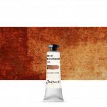 Jackson's : Artist Watercolour Paint : 10ml : Burnt Sienna