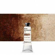 Jackson's : Artist Watercolour Paint : 10ml : Burnt Umber
