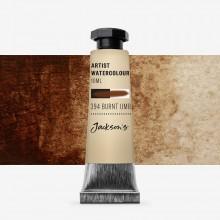 Jackson's : Artist Watercolour Paint : 10ml : Burnt Umber