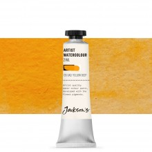 Jackson's : Artist Watercolour Paint : 21ml : Cadmium Yellow Deep