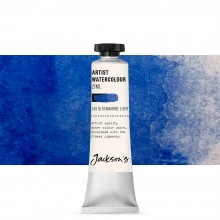 Jackson's : Artist Watercolour Paint : 21ml : Ultramarine Light