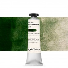 Jackson's : Artist Watercolour Paint : 21ml : Permanent Sap Green