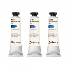Jackson's : Artist Watercolour Paint : Blue Set 1 : 21ml : Set of 3