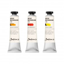 Jackson's : Artist Watercolour Paint : Cadmium Set 1 : 21ml : Set of 3