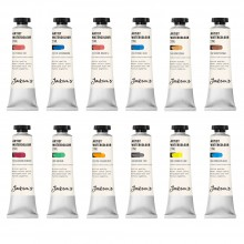 Jackson's : Artist Watercolour Paint : 21ml : Set of 12