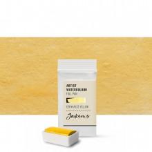 Jackson's : Artist Watercolour Paint : Full Pan : Naples Yellow