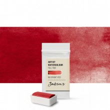 Jackson's : Artist Watercolour Paint : Full Pan : Bright Red