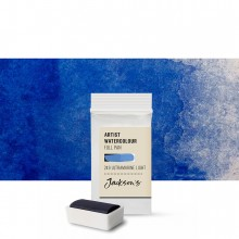 Jackson's : Artist Watercolour Paint : Full Pan : French Ultramarine Light