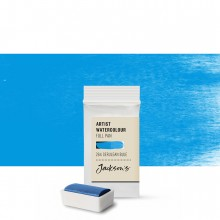 Jackson's : Artist Watercolour Paint : Full Pan : Cerulean Blue