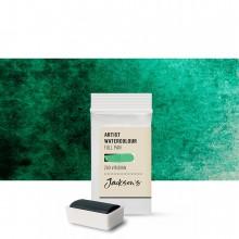 Jackson's : Artist Watercolour Paint : Full Pan : Viridian