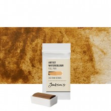 Jackson's : Artist Watercolour Paint : Full Pan : Raw Sienna