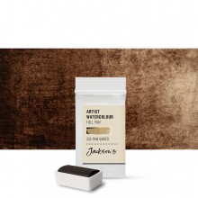 Jackson's : Artist Watercolour Paint : Full Pan : Raw Umber