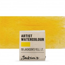 Jackson's : Artist Watercolour Paint : Half Pan : Jackson's Yellow Light