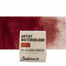 Jackson's : Artist Watercolour Paint : Half Pan : Alizarin Crimson