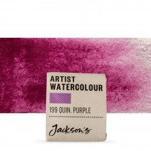 Jackson's : Artist Watercolour Paint : Half Pan : Quinacridone Purple