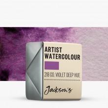 Jackson's : Artist Watercolour Paint : Half Pan : Cobalt Violet Deep Hue