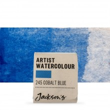 Jackson's : Artist Watercolour Paint : Half Pan : Cobalt Blue