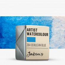 Jackson's : Artist Watercolour Paint : Half Pan : Cerulean Blue