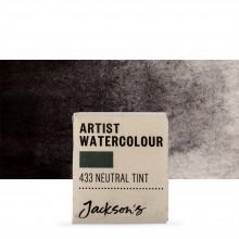 Jackson's : Artist Watercolour Paint : Half Pan : Neutral Tint