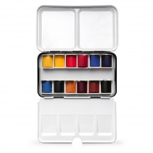 Jackson's : Artist Watercolour Paint : Half Pan : Set of 12