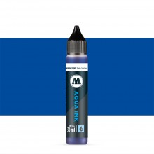 Molotow : Grafx Aqua Ink Refill : 30ml : Primary Blue #011